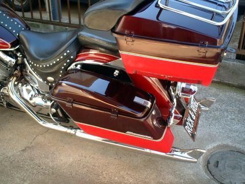 ハードサドルバッグ(Harley-Davidson製)_2