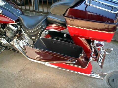 ハードサドルバッグ(Harley-Davidson製)_3